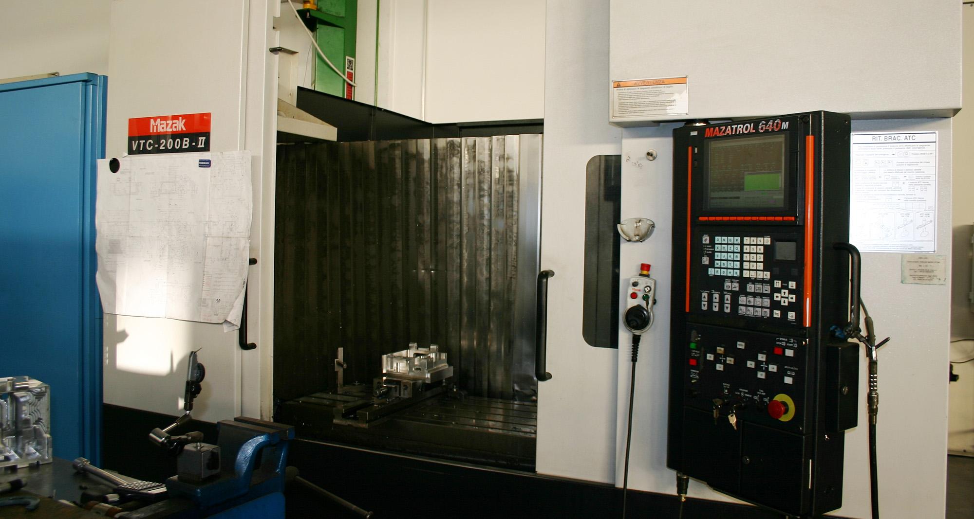 Mazak VTC 200B II - Remec