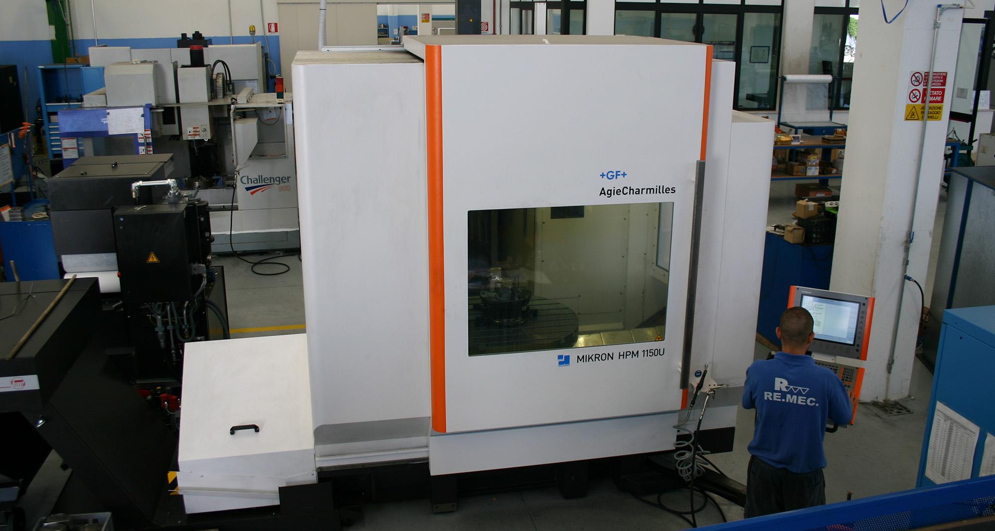 Mikron HPM 1150U Mandrino ISO 40 - Remec
