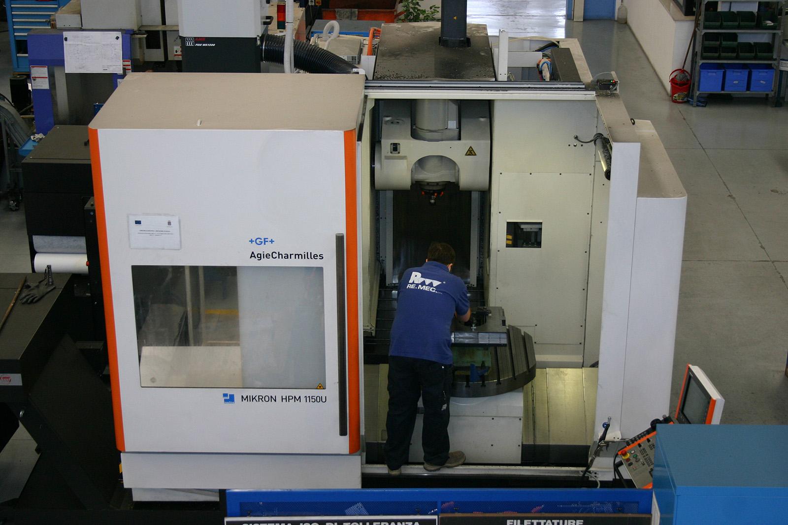 Mikron HPM 1150U Mandrino HSK63 - Remec