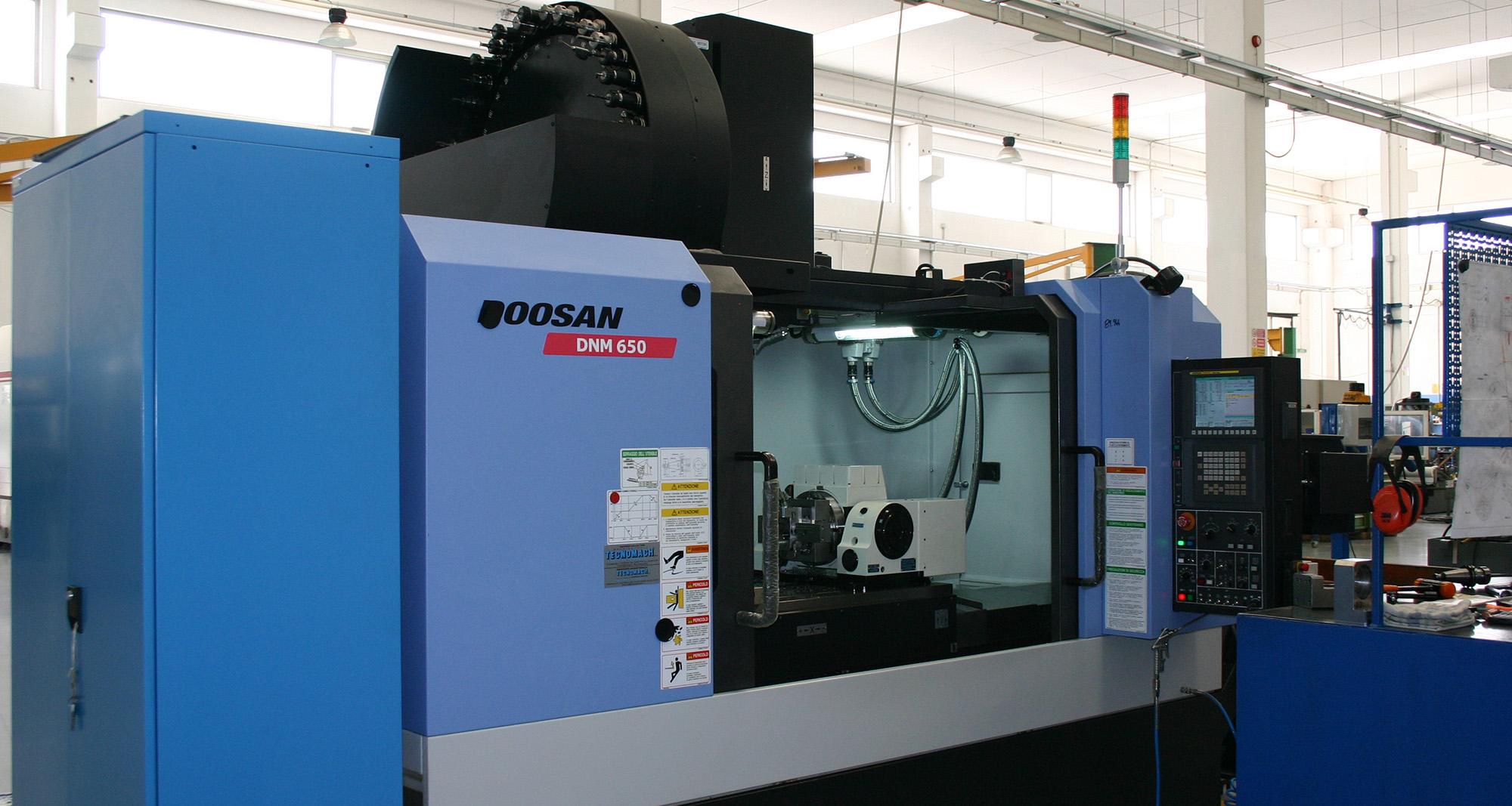 Doosan DNM 650 - Remec